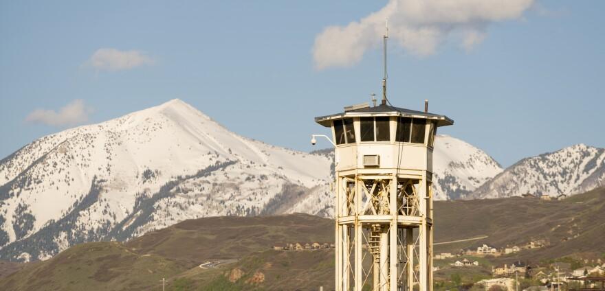Utah State Prison Draper Watchtower