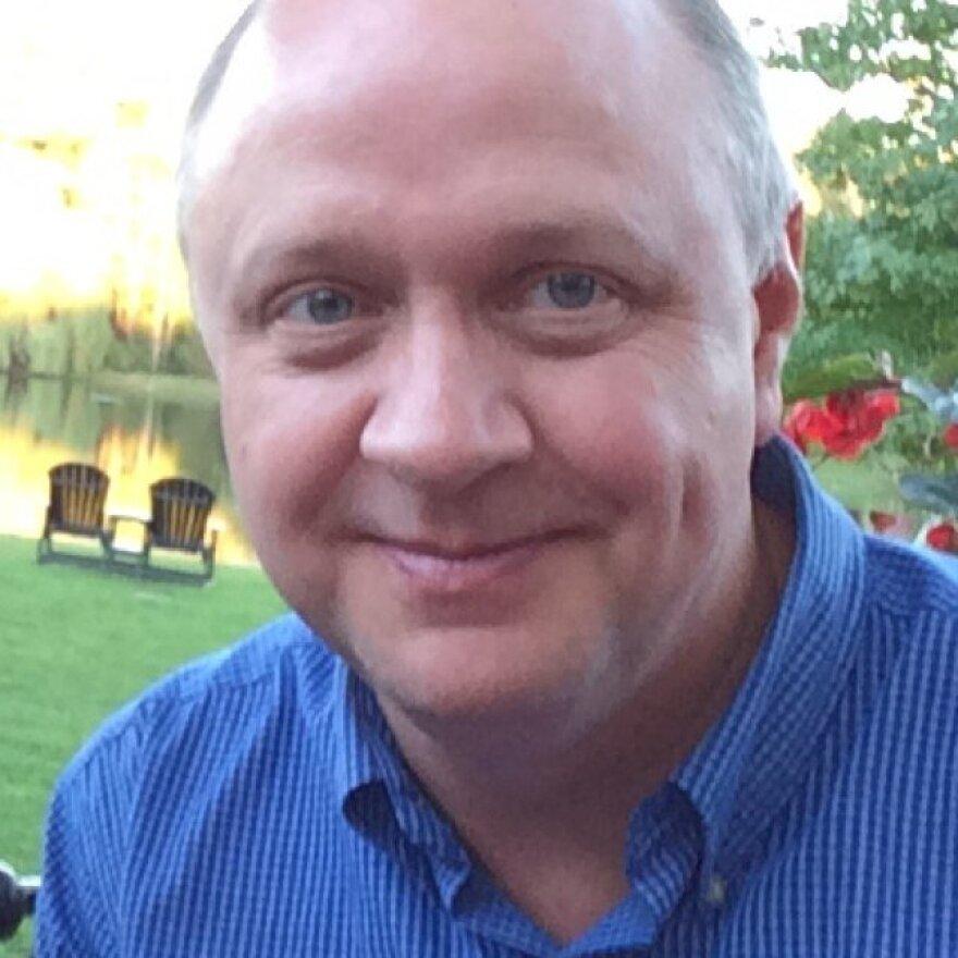 Associate professor Mitch McKenney