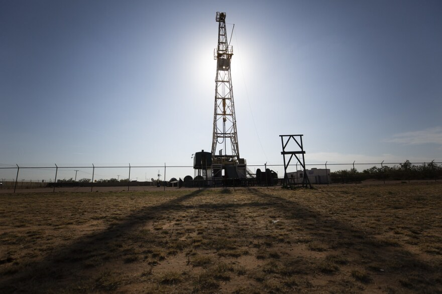 The president of the Texas Oil and Gas Association acknowledged Tuesday that fossil fuels contribute to global warming.