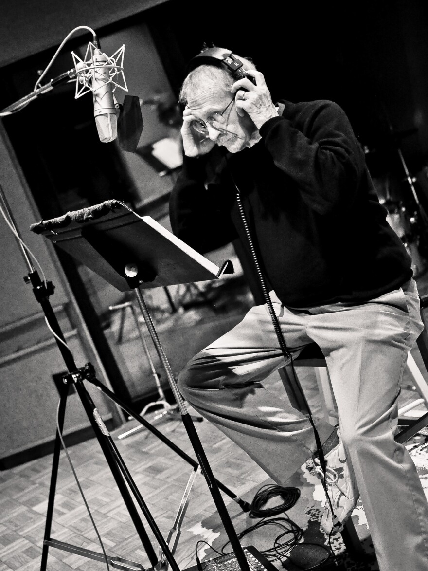 Philip Levine was in his 80s when he recorded his poetry with Benjamin Boone's band.