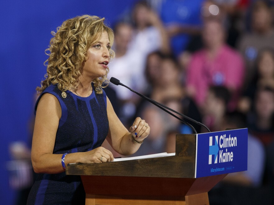 Debbie Wasserman Schultz is stepping down as chair of the Democratic National Committee amid a furor over an email leak that revealed a bias against Bernie Sanders inside the DNC.