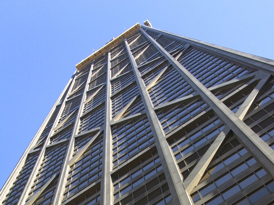 The John Hancock Center, one of Chicago's most famous skyscrapers, must change its name.