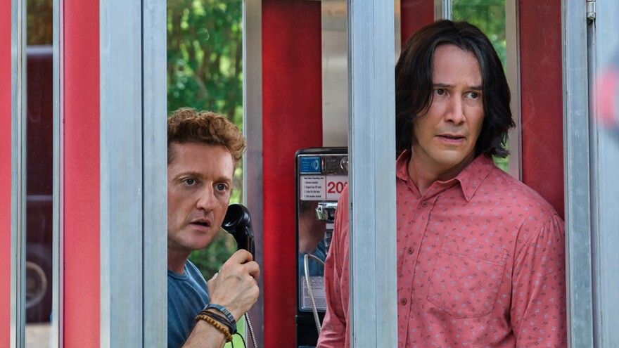 "Alex Winter and Keanu Reeves are back as everyone's favorite dim-witted would-be rock stars, Bill S. Preston, Esq., and Ted ""Theodore"" Logan."