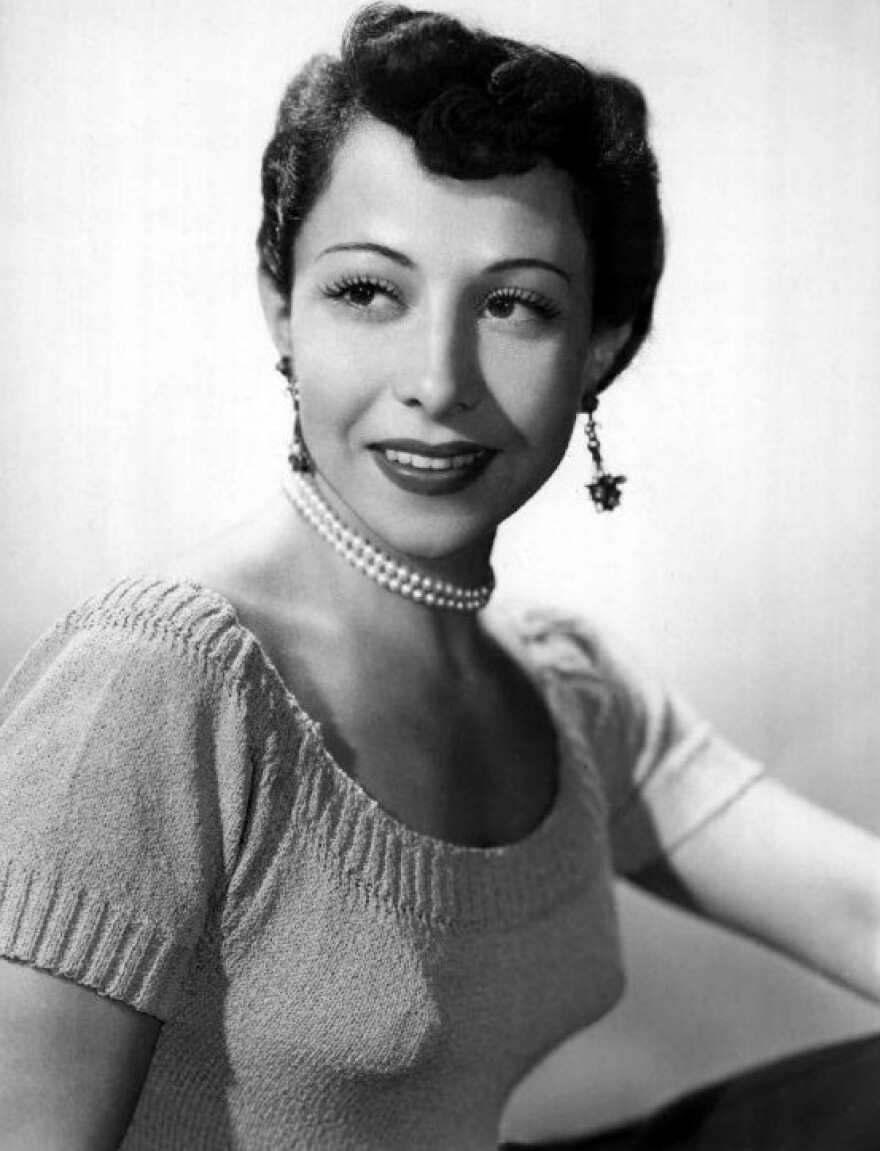 June Foray in 1952.
