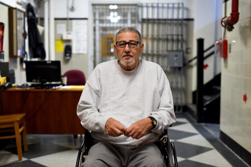 "George McGrath, age 70, was convicted in 1969 of first degree murder for his role in the death of two men in a drug store robbery. He is incarcerated at the ""Assisted Daily Living"" unit at MCI-Norfolk. He is seeking medical parole, claiming he is old, sick, and not a safety risk. McGrath said prison is a ""young man's game...obviously I'm not a young man anymore."""