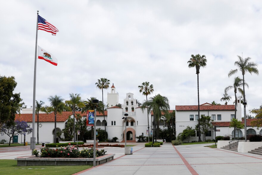 San Diego State University is among the 23 campuses of the California State University system that will hold their fall semesters online as a result of the coronavirus pandemic.