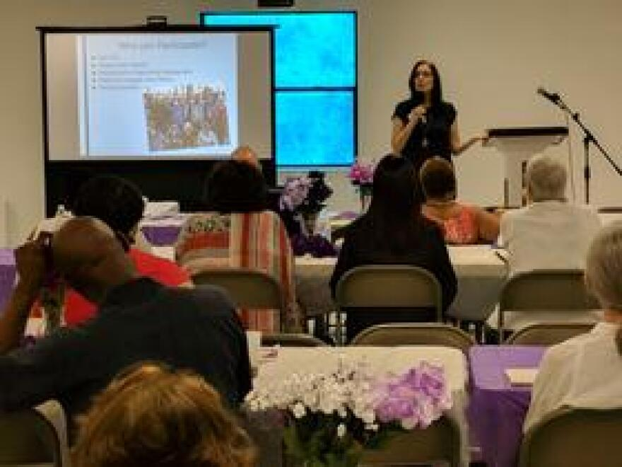 One of the seminars held at Saturday's conference