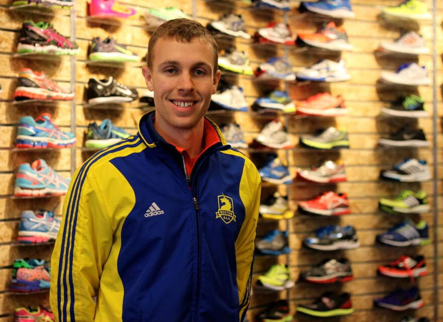 Eric Ashe, 25, is hoping to qualify for the Olympic marathon trials at the Boston Marathon this spring.