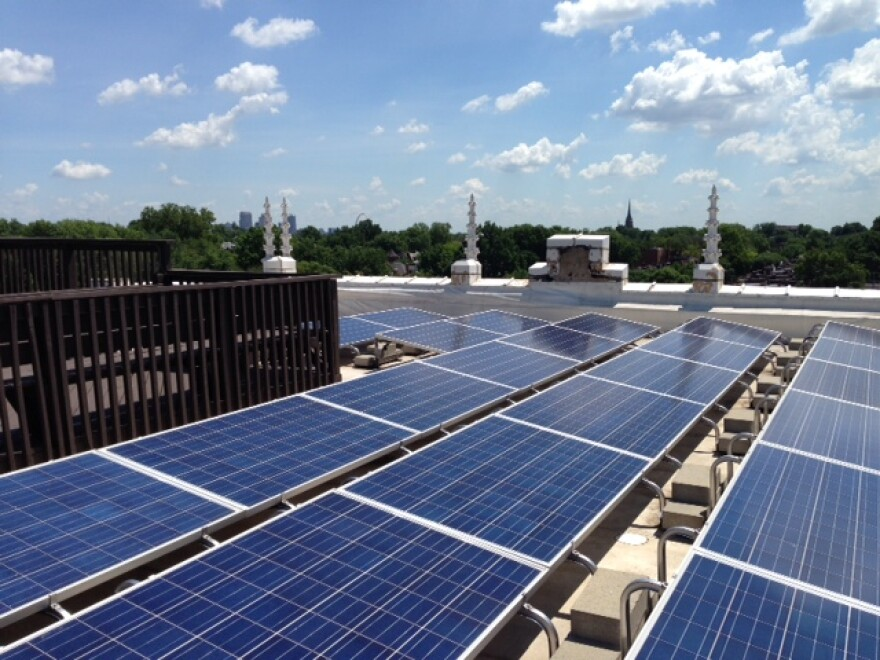 Solar panels are one upgrade business can make with PACE financing. The Fairview Heights City Council will consider tonight whether to allow the financing program in its city.