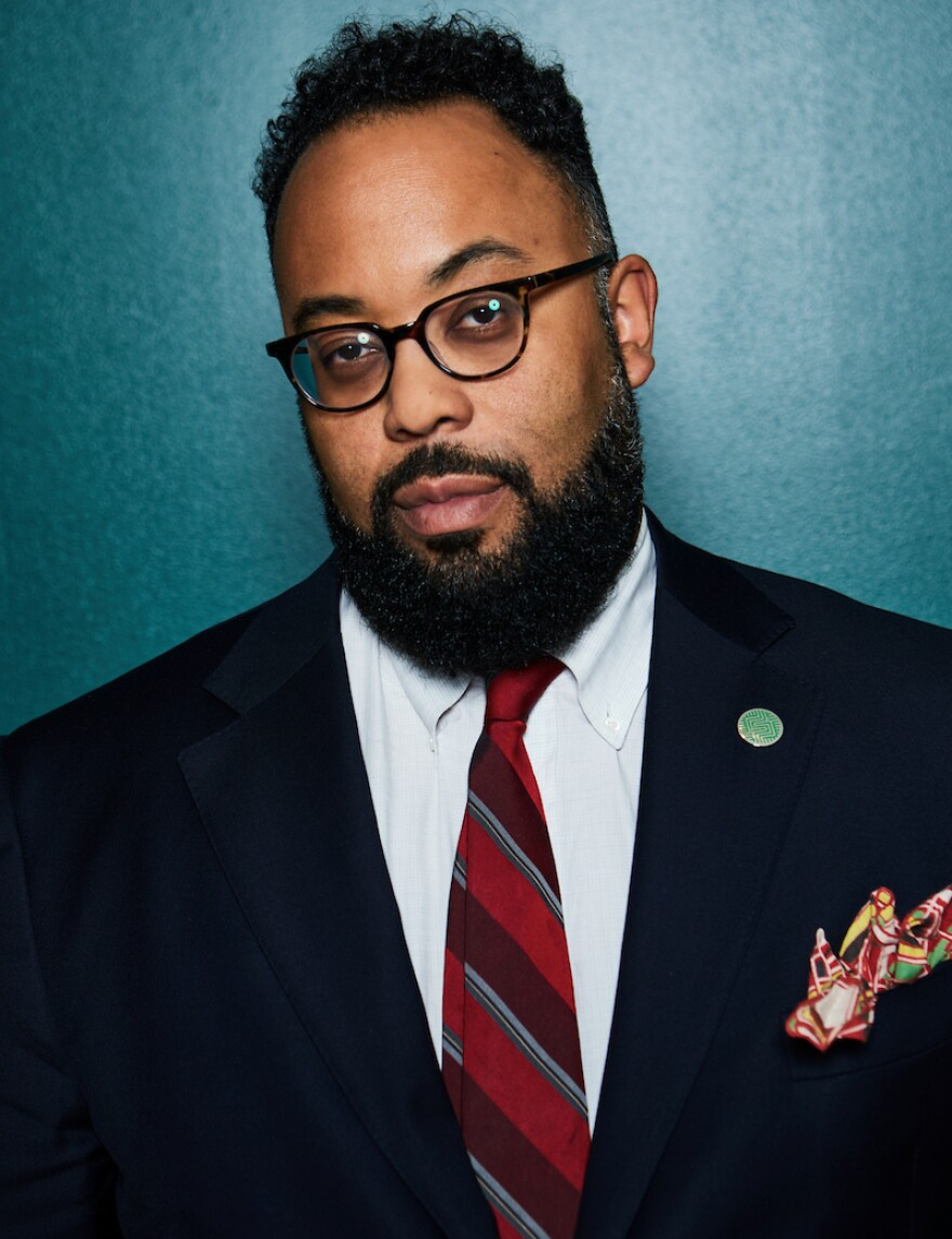 Kevin Young was recently named as the next director of the National Museum of African American History and Culture. He starts in January.