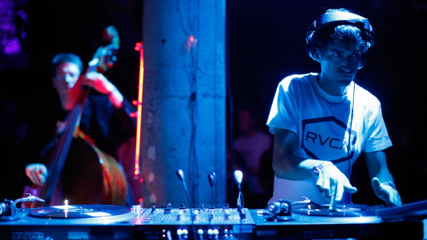 Electronic artists such as Mason Bates (pictured above), Aphex Twin and Tiësto have blended classical music into their dance beats.