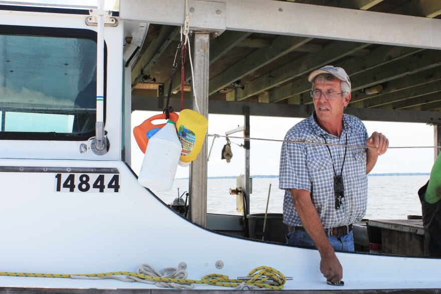 Billy Crook has crabbing been on the Chesapeake Bay for 41 years. He says a healthy bay can have a positive impact on his family's finances.