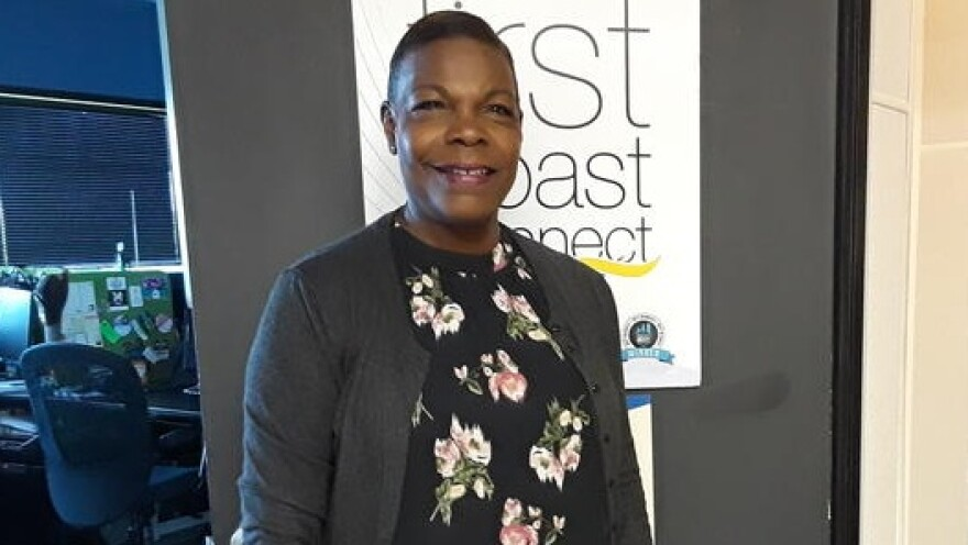 Senator Audrey Gibson at First Coast Connect in September