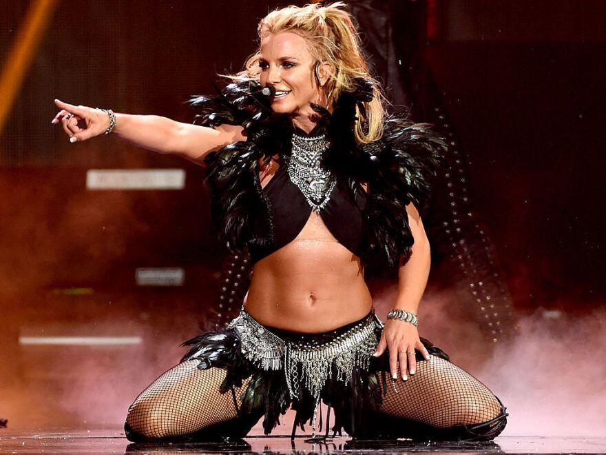 Britney Spears, onstage in Las Vegas in September 2016.