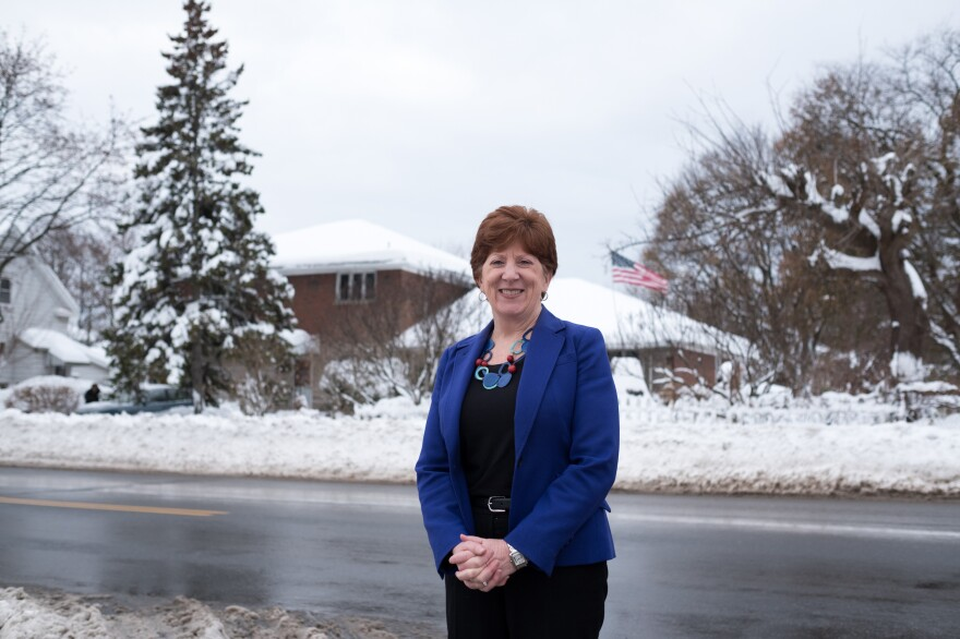 Albany Mayor Kathy Sheehan used to live in one of the city's more affluent neighborhoods but recently moved to Arbor Hill.