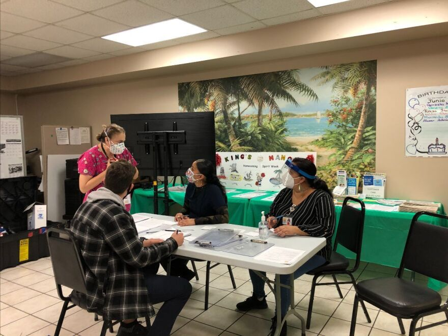 Hillsborough County is expanding its coronavirus vaccine program and has begun to distribute it at  Kings Manor in Tampa. It plans to add other local senior communities,.