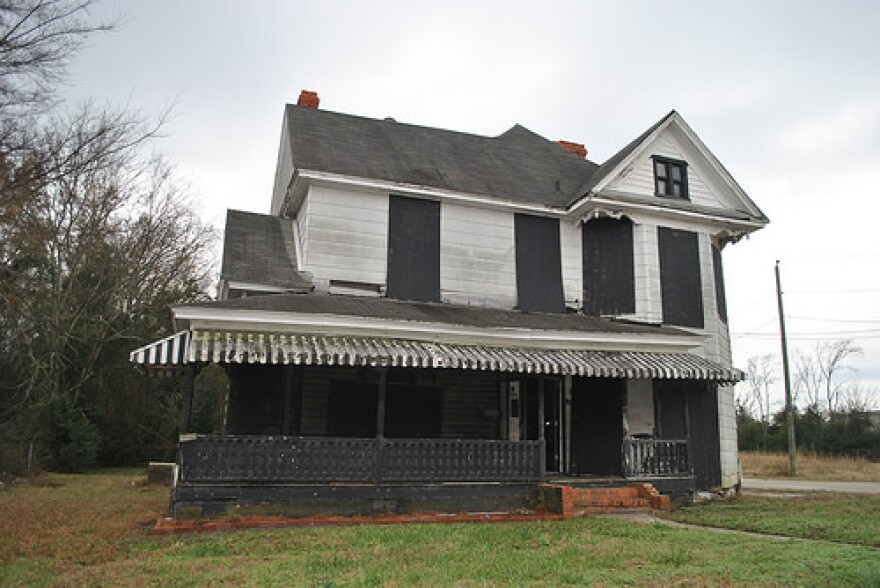 An image of the Dr. Ezekiel Ezra Smith home in Cumberland County