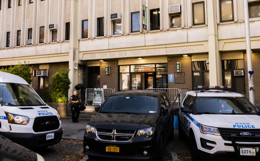 The 67th Precinct of the New York City Police Department in East Flatbush, Brooklyn.