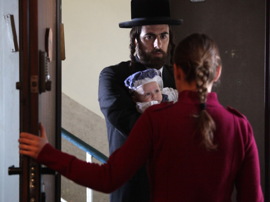 Handsome and thoughtful, Shira's sister's widower (Yiftach Klein) is nonetheless not her first choice for a husband — which may not make a difference in the end.