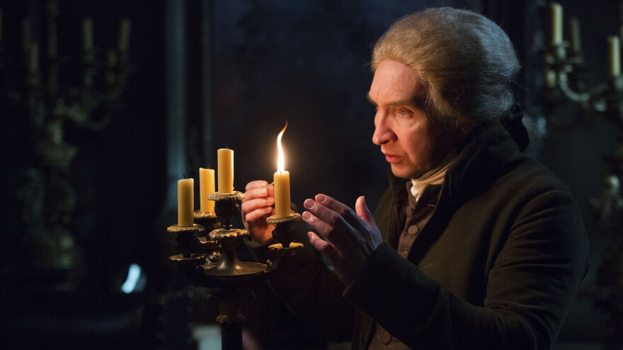 Eddie Marsan plays the reclusive magician Gilbert Norrell in a new TV adaptation of <em>Jonathan Strange & Mr Norell</em>.