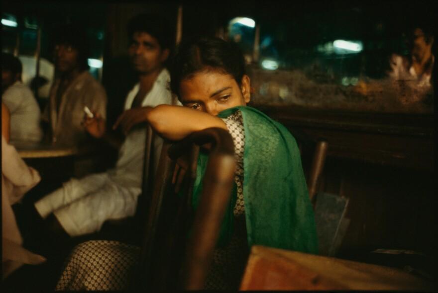 Falkland Road, Bombay, India. 1978