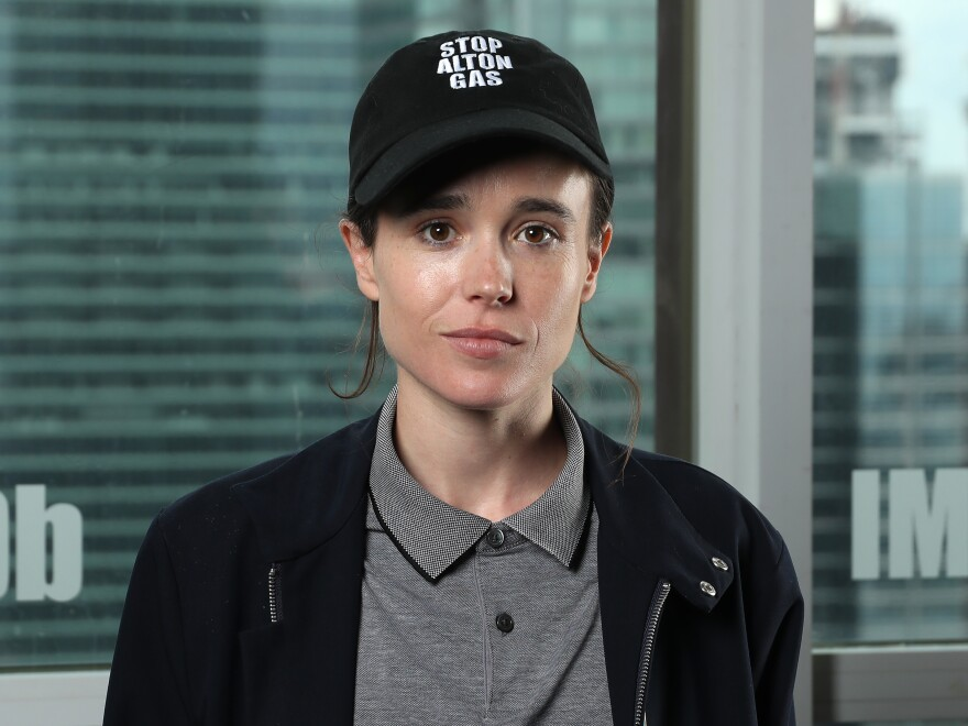 Elliot Page pictured in 2019. Formerly known as Ellen Page, he announced on Tuesday he is transgender. Page posted to both Instagram and Twitter and received expressions of support from hundreds of thousands of people.