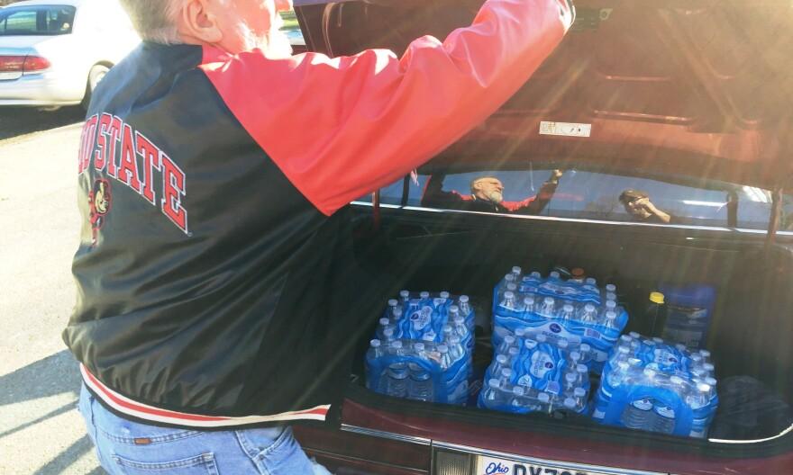 bottled water distribution
