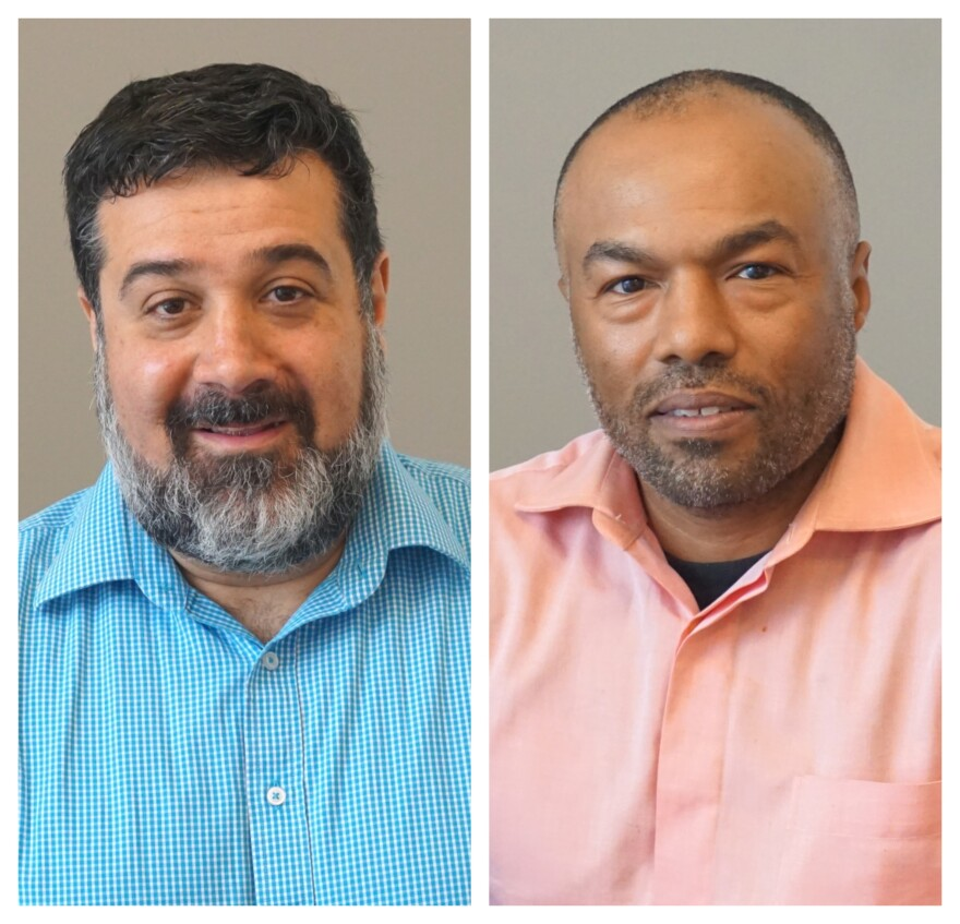 September 25, 2019 Javad Khazaeli and Walter Rice