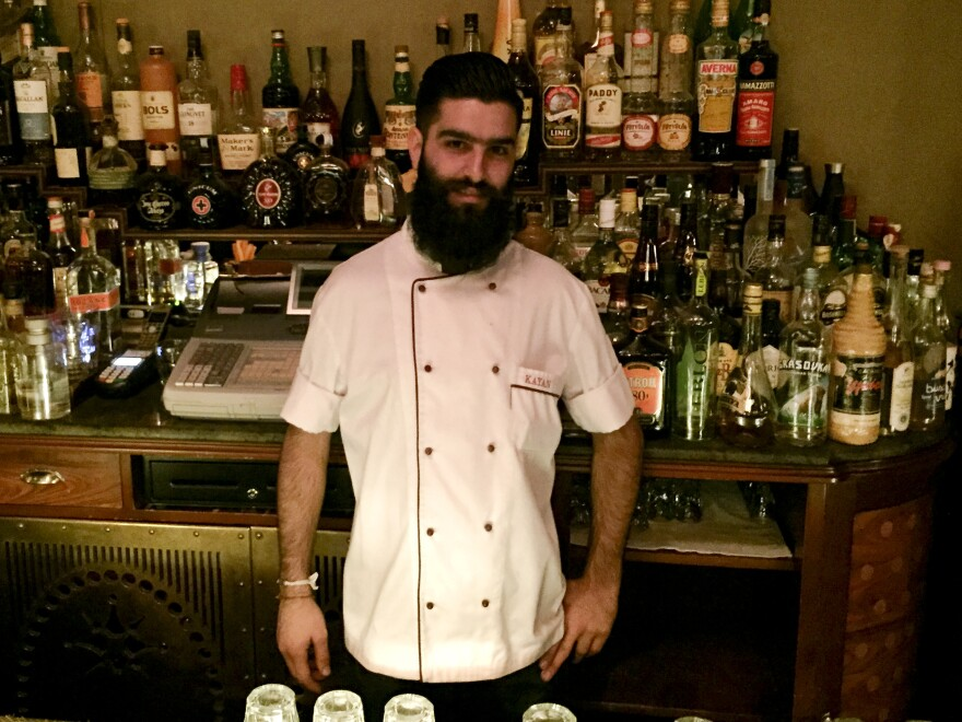 Mazen Hariz, a bartender and business student in east Beirut, says it took him seven months to grow his beard.