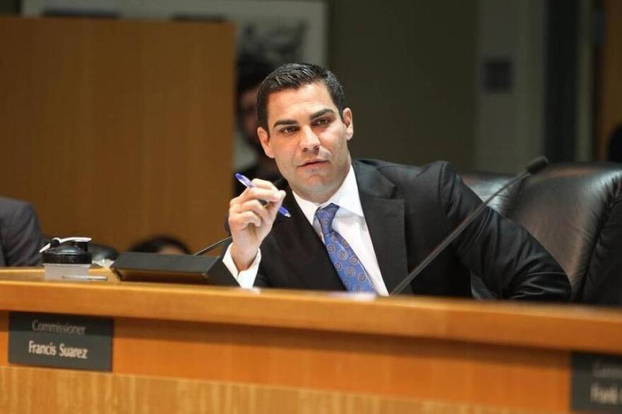 City of Miami Mayor Francis Suarez