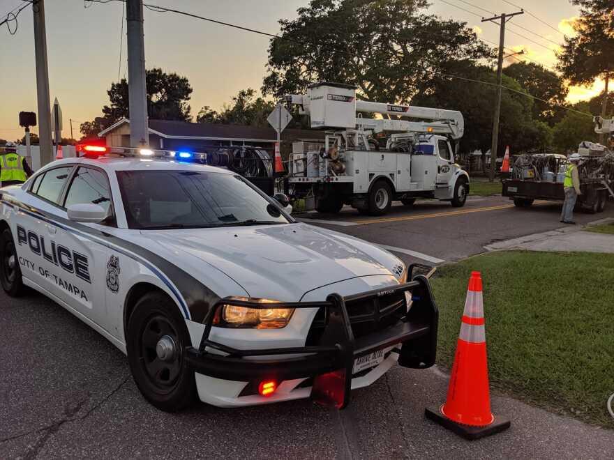 Tampa Police Department patrol car