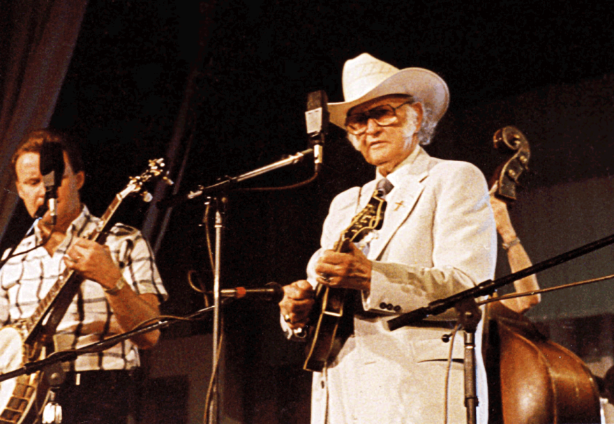 Bill Monroe on Mountain Stage 1989