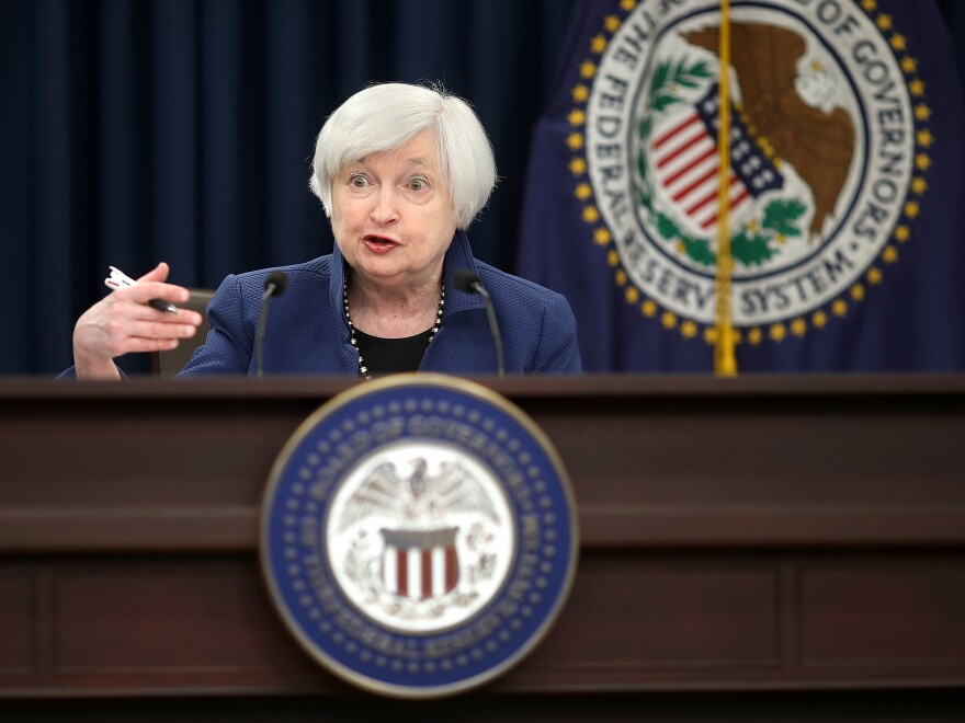 Fed Chair Janet Yellen on Monday submitted her resignation from the Federal Reserve Board. Earlier this month, President Trump named Jerome Powell to be the next Fed chair.