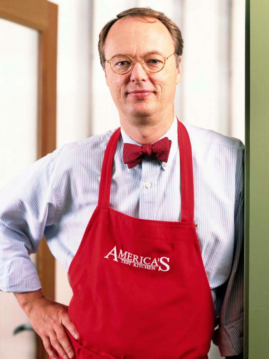 Chris Kimball, the founder and editor of <em>Cook's Illustrated,</em> will be staying on as the host of the America's Test Kitchen radio show, despite a contract dispute that resulted in his leaving the company he co-founded.