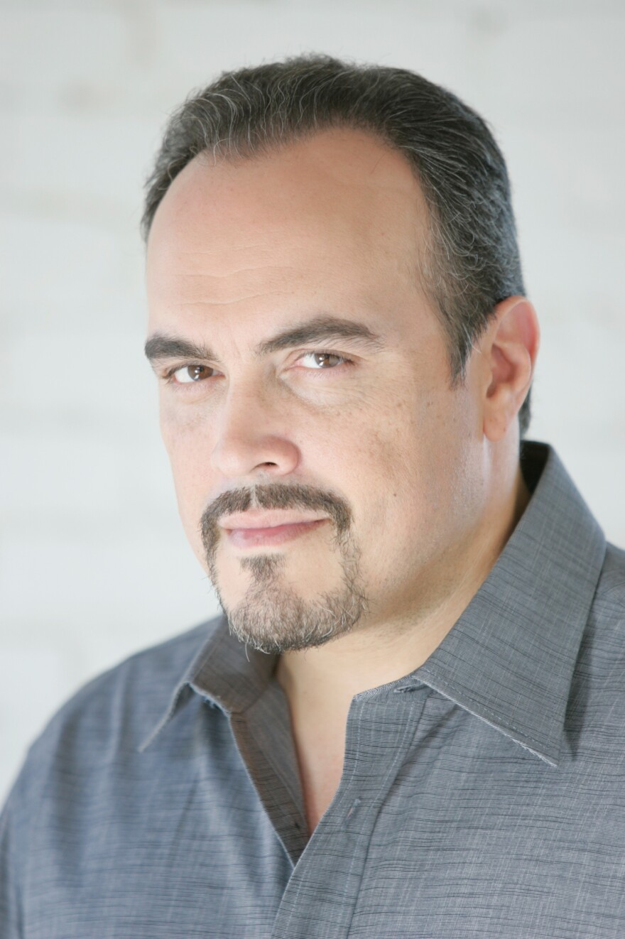 "Before acting, David Zayas spent almost 15 years as a police officer in New York City. ""It was a time where there was a lot of violence in New York,"" he says. ""It was pretty intense back then."""