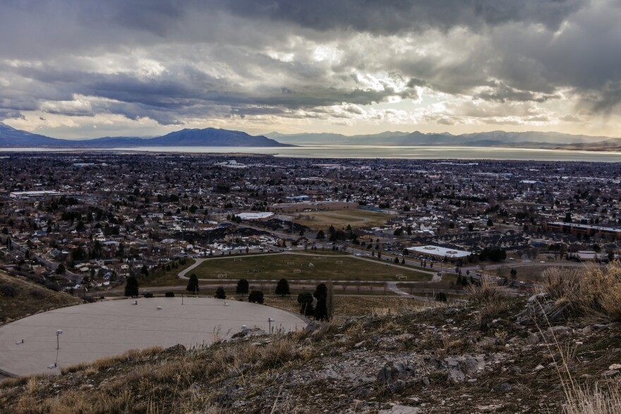 Photo of Orem from above
