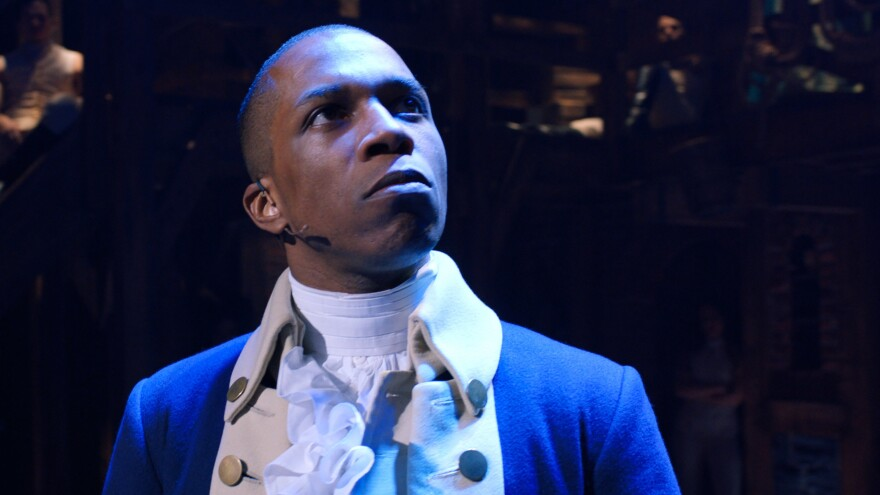 Leslie Odom, Jr. originated the role of Aaron Burr on Broadway in <em>Hamilton</em>. Like the rest of the original cast, he's now available to watch at home in the film, now on Disney .