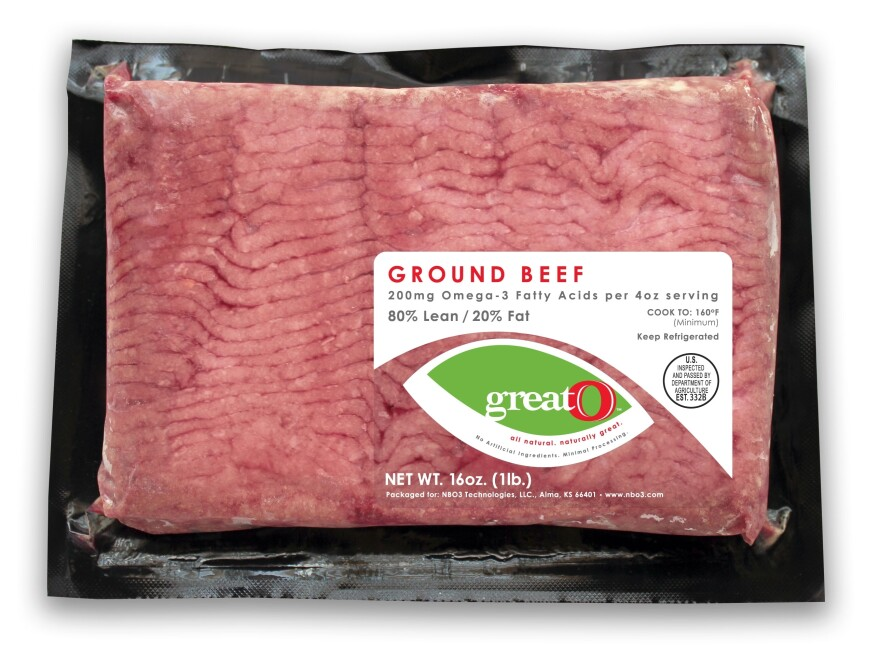 NBO3 launched its enriched ground beef at the Tops grocery chain in New York in March.