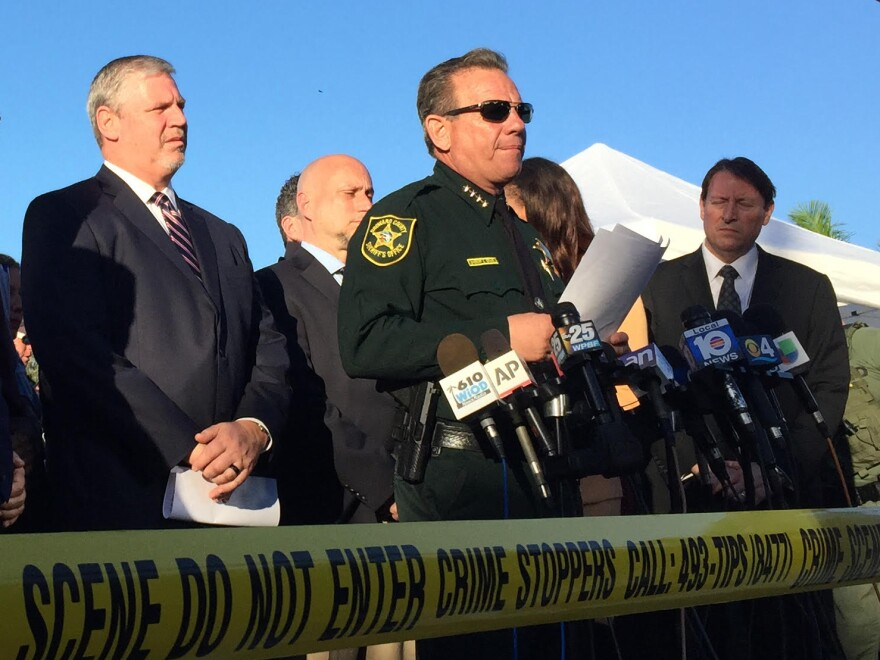 Scott Israel became Broward County's sheriff in 2012 and was re-elected in 2016. His replacement, Gregory Tony, will serve out the remainder of Israel's current term, through 2020.