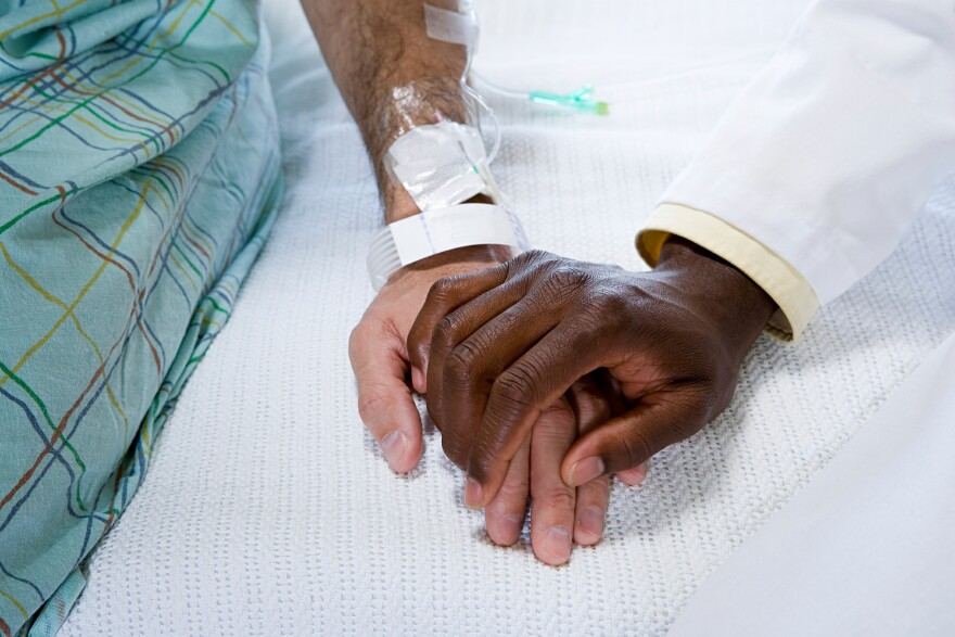 Maximum care at the end of life for cancer patients has increased.