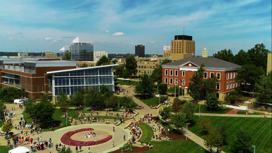 Picture of University of Akron campus