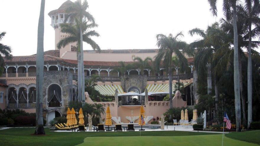 President Trump's Mar-a-Lago estate in Palm Beach, Fla., in April 2017.