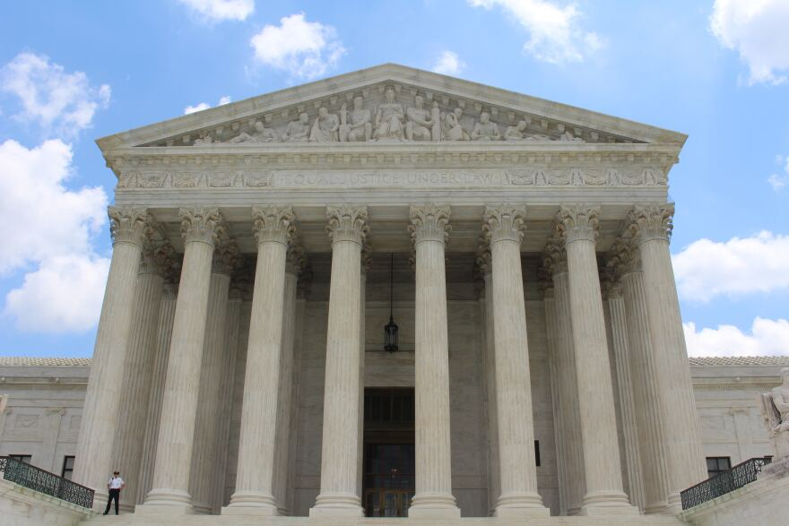 Image of the outside of the Supreme Court building.