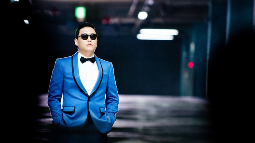 Korean rapper PSY is responsible for the song <em>Gangam Style</em>, whose flashy and humorous video has brought K-pop to new ears.