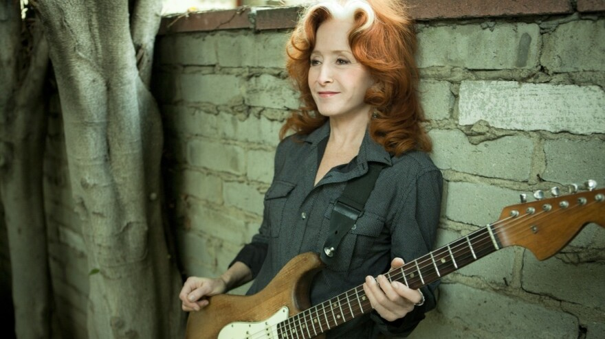 Bonnie Raitt's latest album, <em>Slipstream,</em> is the first release on her own Redwing Records label.