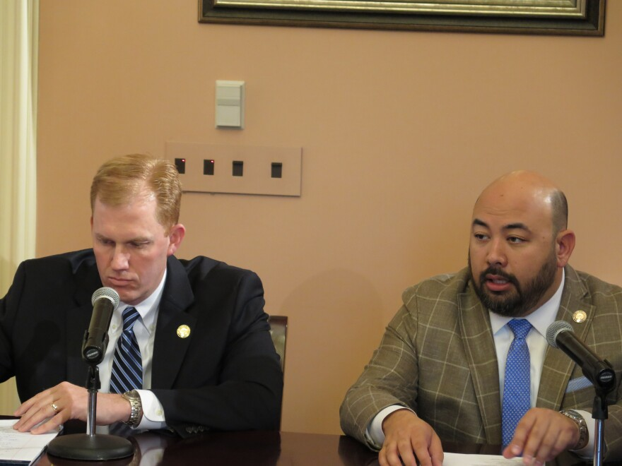 photo of Cliff Rosenberger and Ryan Smith