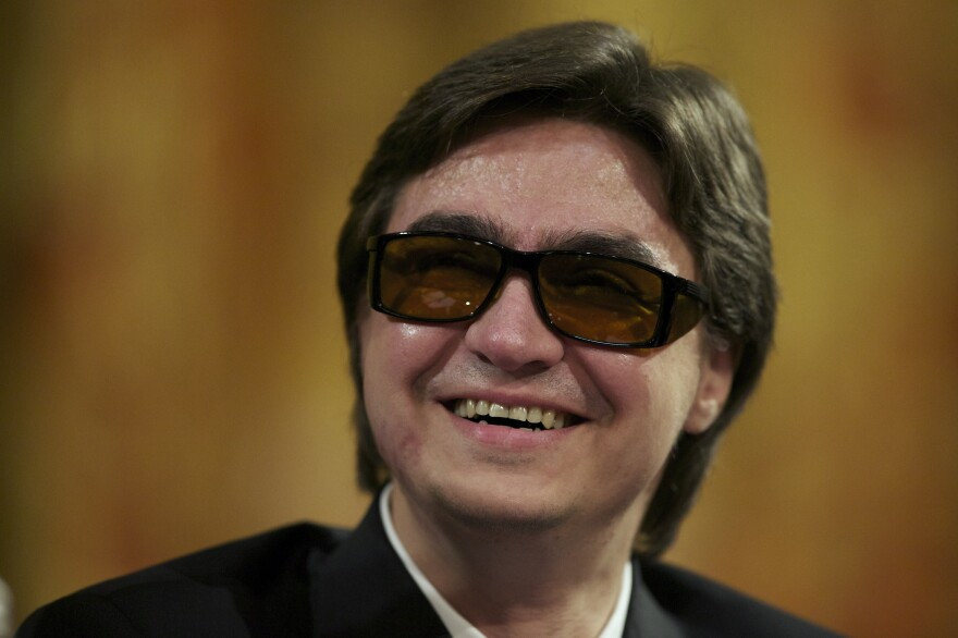 Artistic director of the Bolshoi ballet Sergei Filin attends a 2013 meeting of the Bolshoi Theater in Moscow.