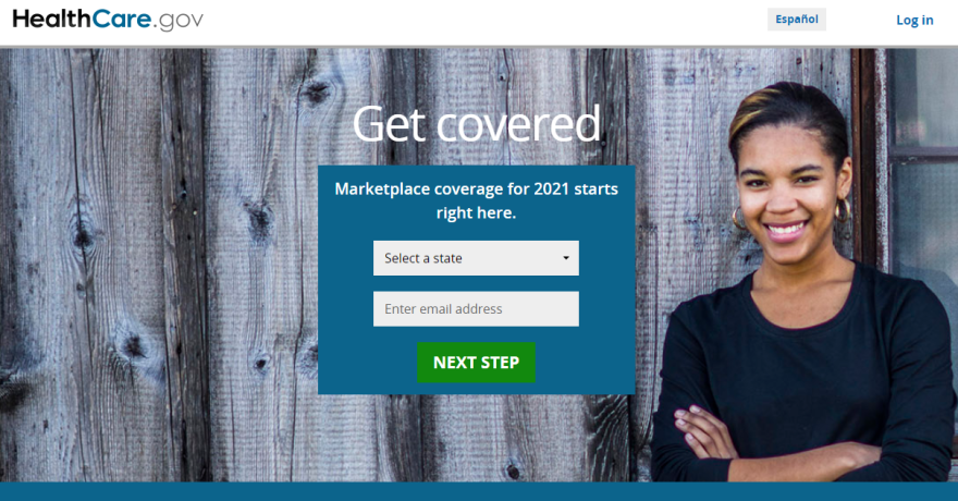 2021 ACA Enrollment Website Home Page.png
