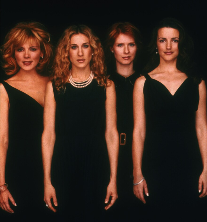 HBO's <em>Sex and the City</em> followed the friendship, fashion and love lives of Samantha, Carrie, Miranda and Charlotte (Kim Cattrall, Sarah Jessica Parker, Cynthia Nixon and Kristin Davis).