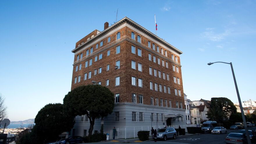 Russia's consulate general in San Francisco, as seen at the end of last year.